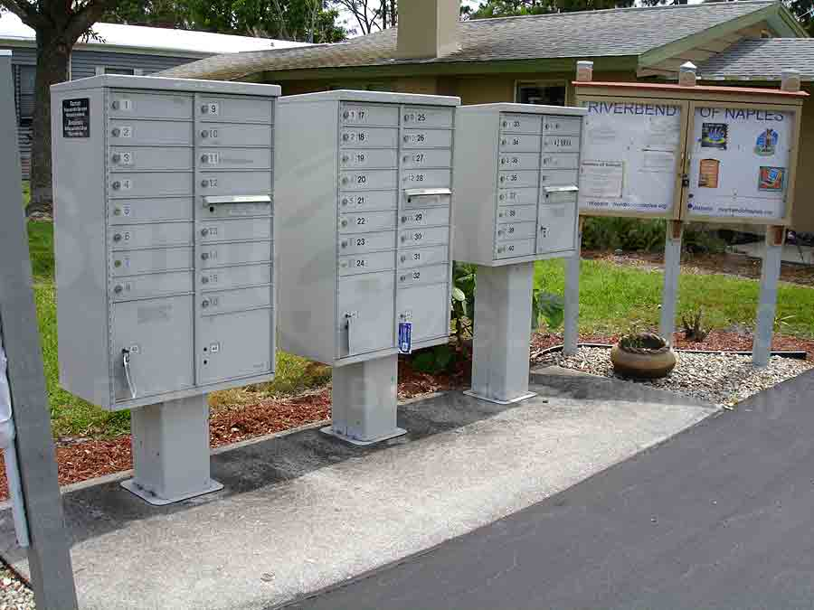 RIVERBEND MOBILE HOME PARK Mailboxes