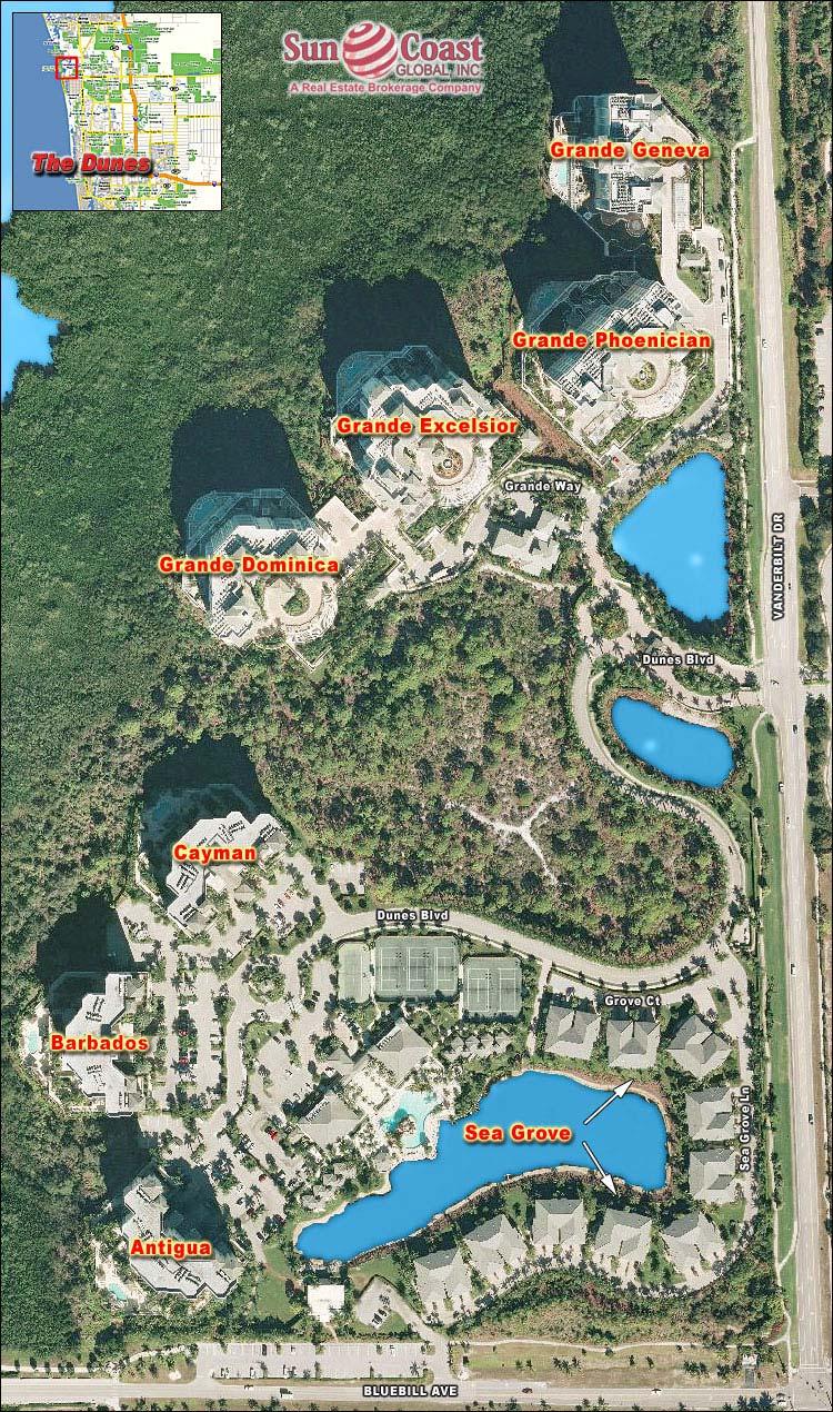 Map Naples Florida.Cayman At The Dunes Real Estate Naples Florida Fla Fl