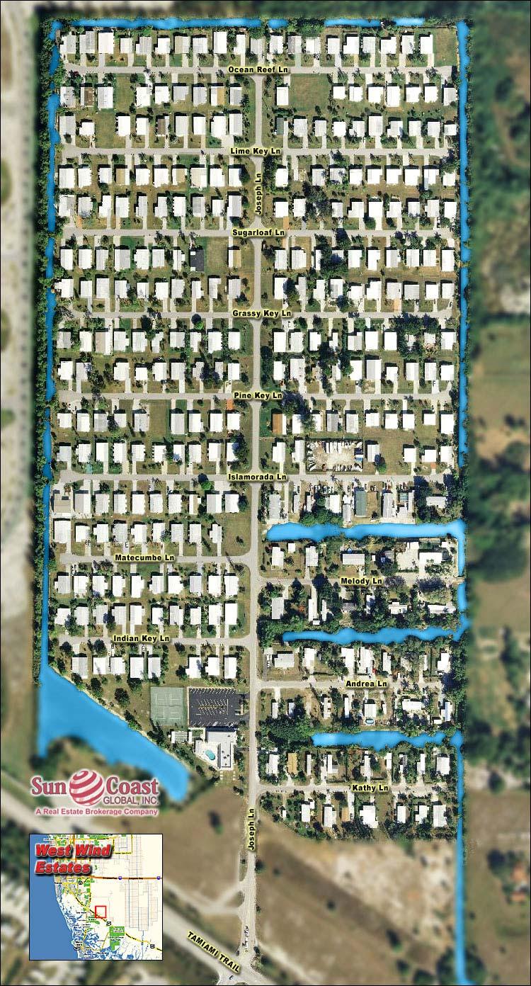 WEST WIND ESTATES Real Estate NAPLES Florida Fla Fl  Westwind Mobile Home Floor Plans on