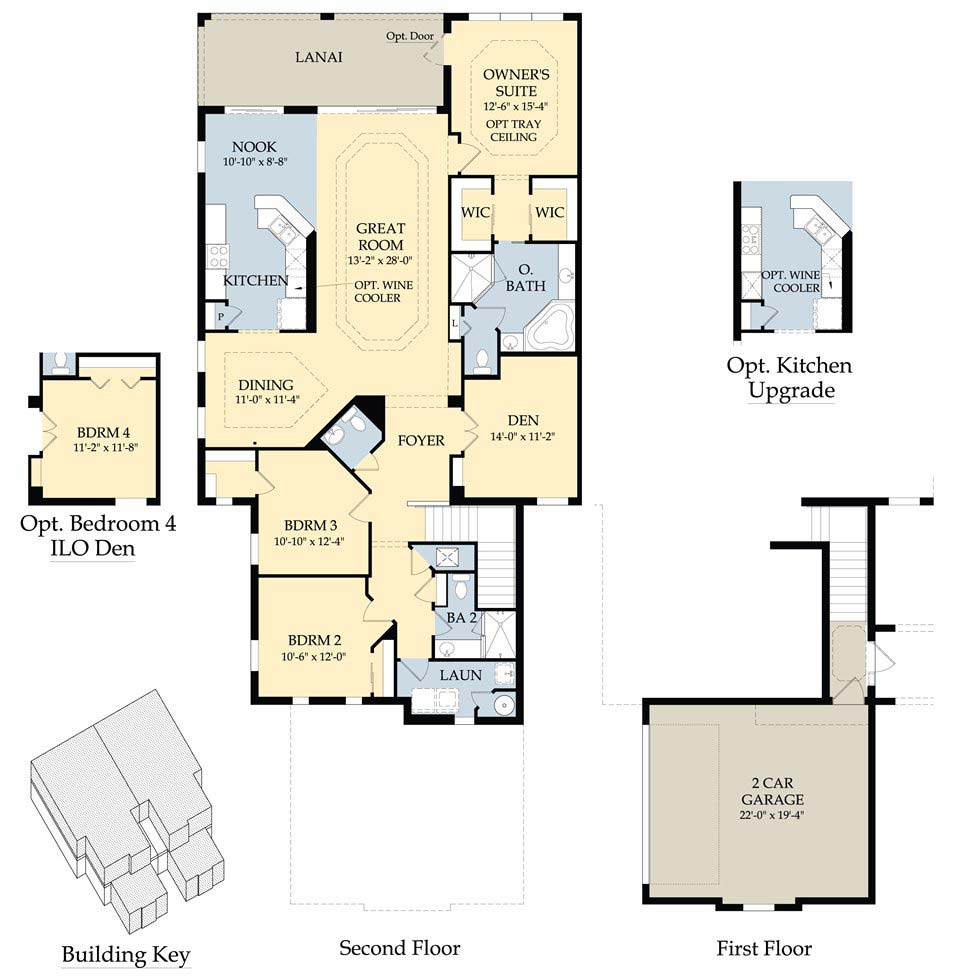 Pulte homes floor plans 2005 for Floor plan images