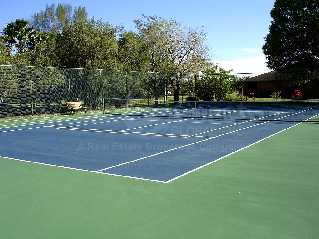Bay Pointe Yacht And Racquet Club Tennis Courts