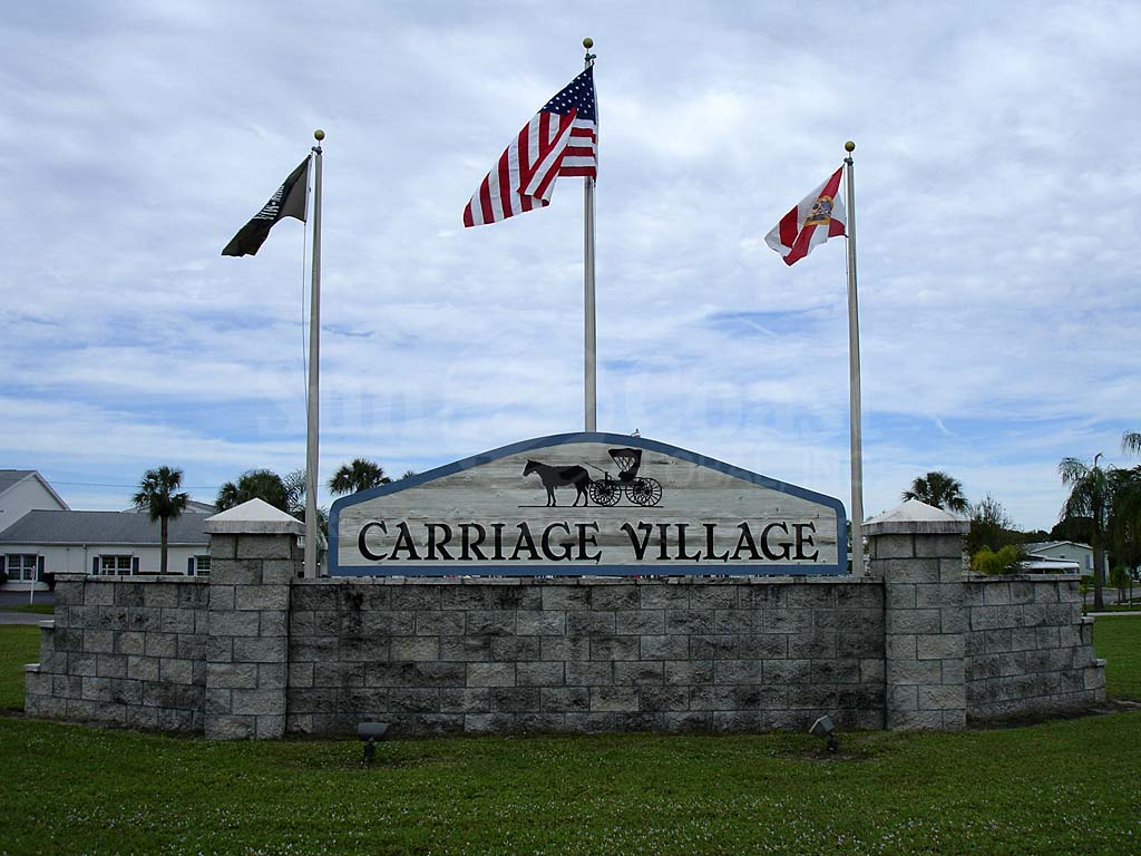 Carriage Village Signage