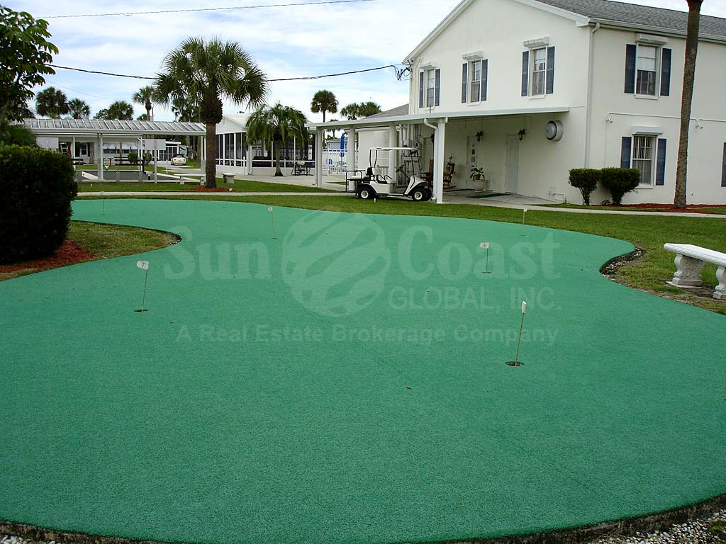 Carriage Village Putting Green