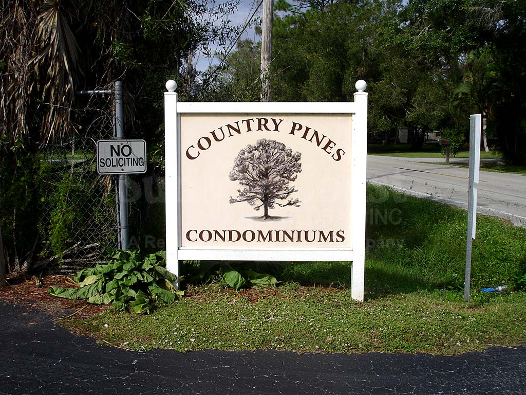 Country Pines Signage
