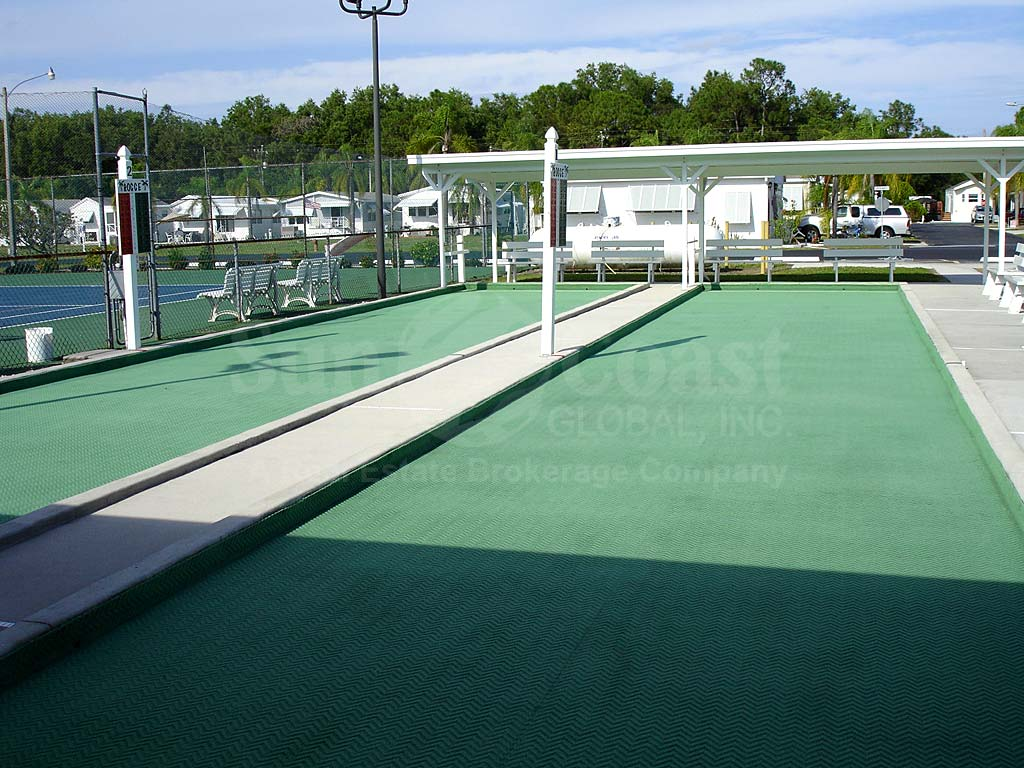 Fountain View Rv Resort Bocce Ball Courts
