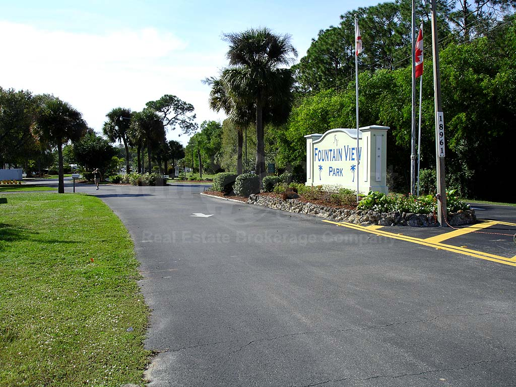 Fountain View Rv Resort Entrance