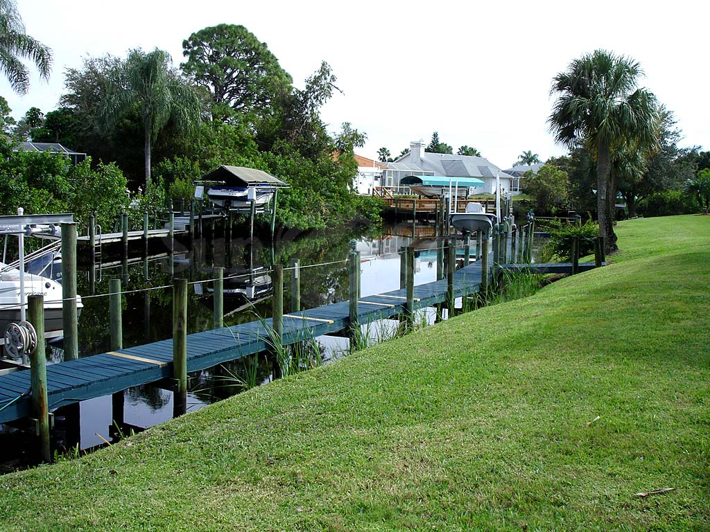 Indian Creek Golf Villas Boat Docks