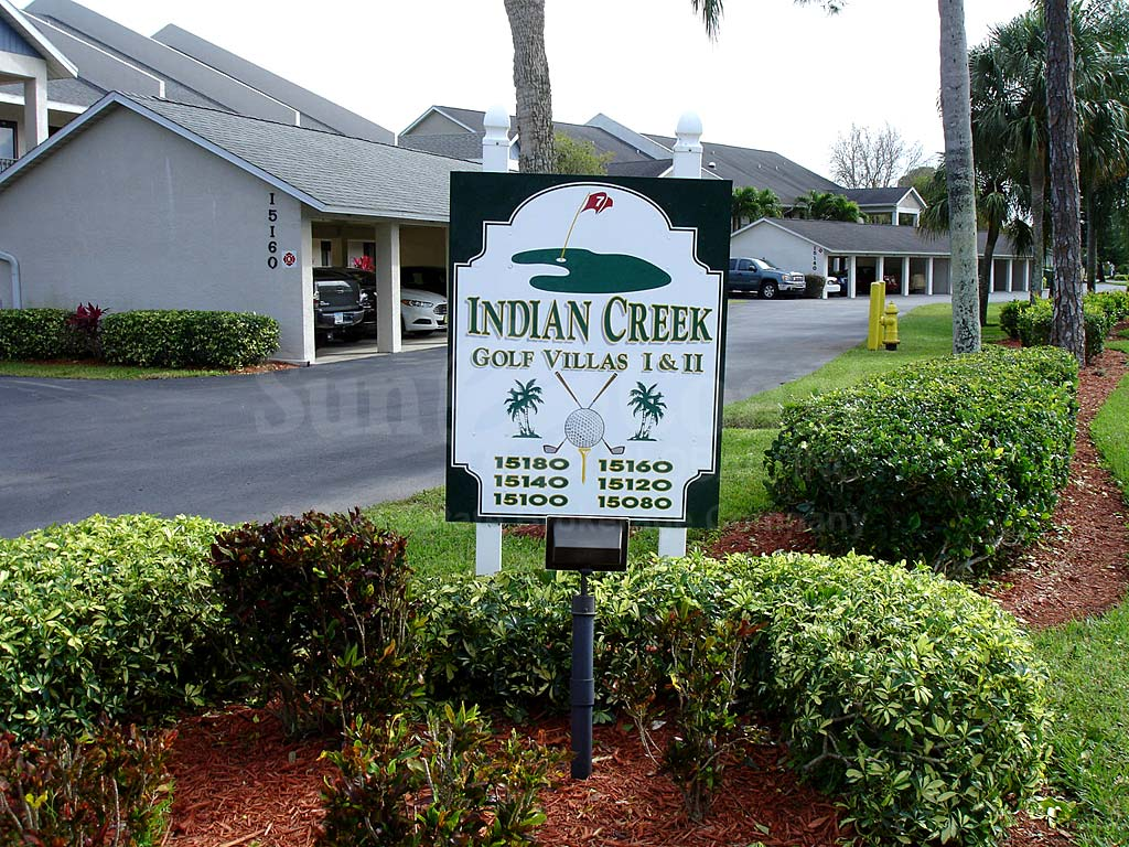 Indian Creek Golf Villas Signage