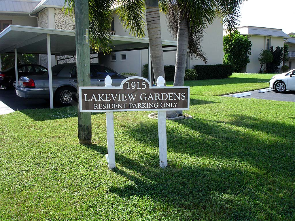 Lakeview Gardens Signage