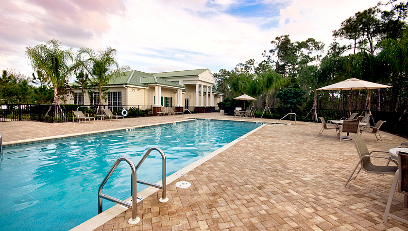 Magnolia Landing Community Pool and Clubhouse