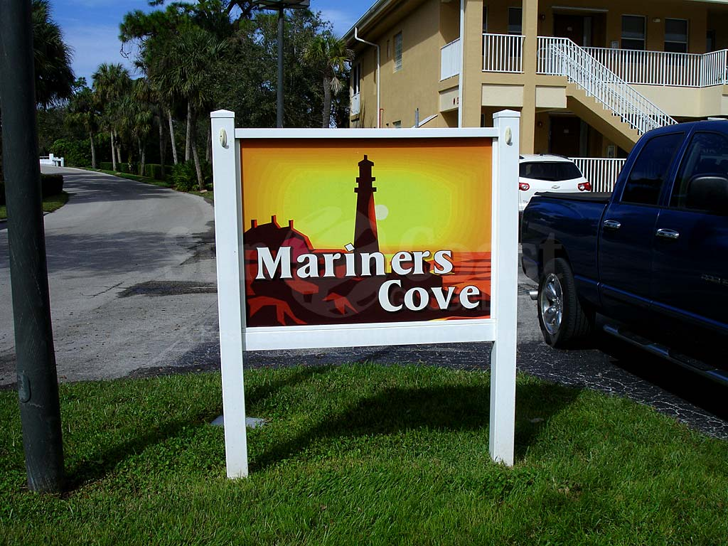 Mariners Cove Signage