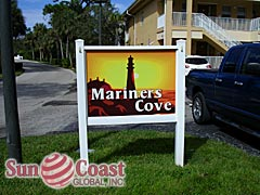 Mariners Cove Community Sign