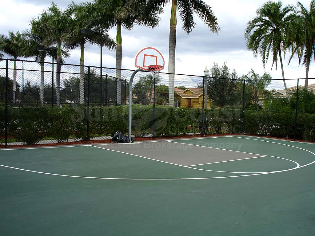 Moody River Estates Basketball Courts