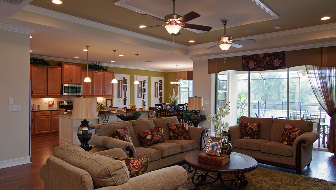 DR Horton Model Home in Moody River Estates