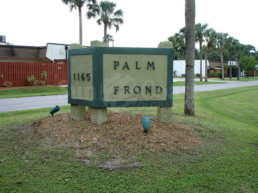 Palm Frond Signage