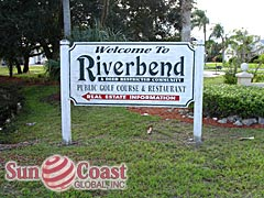 Riverbend Community Sign