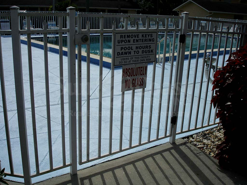 Yachtsmans Cove Community Pool Safety Fence