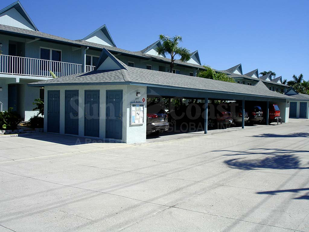 Fishermans Wharf Covered Parking