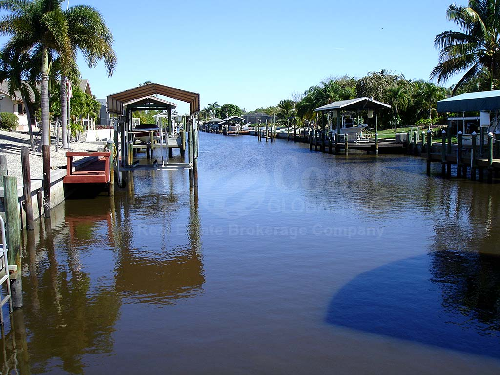 View Down the Canal From Manatee Bay