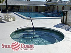 Pine Island Cove Community Pool and Hot Tub