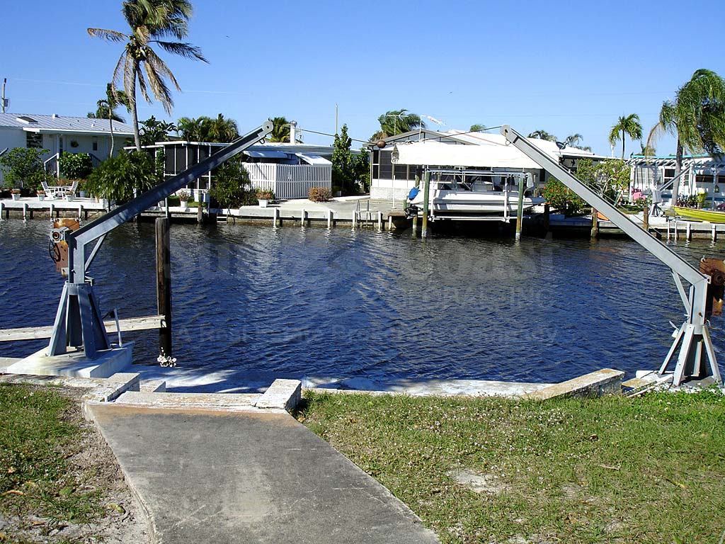St. James City Area Mobile Homes View of Water