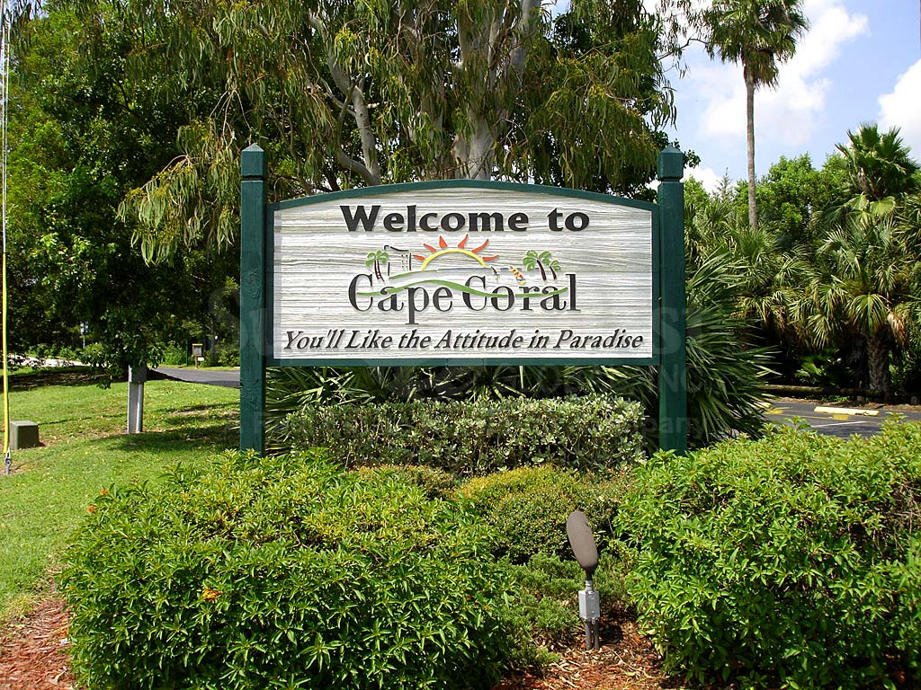 South East Cape Coral Signage