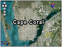 Cape Coral Florida Map.Clipper Bay Verandas At Downtown Cape Coral Condos Real Estate Cape