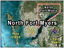 Ft Myers Map Of Florida.Foxmoor Village Real Estate North Fort Myers Florida Fla Fl