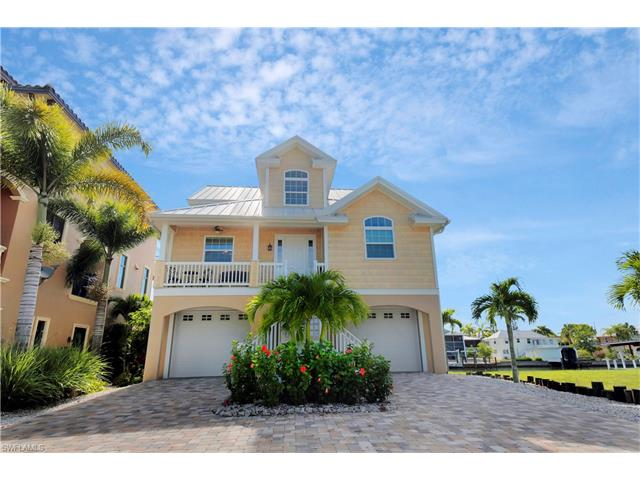 Offered by Century 21 Sunbelt Rlty  1 Inc  BREATHTAKING HARBOR VIEWS  FM  BEACH  Highest Quality CUSTOM WATERFRONT HOME constructed by expert  Craftsmen 2012. SINGLE FAMILY HOMES at FORT MYERS BEACH LANI KAI AREA Real Estate