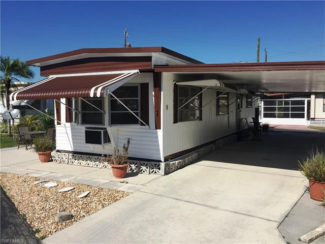 1 Bedroom Manufactured Home With Large Screened In Lanai Nestled This 55 Community Riverlawn